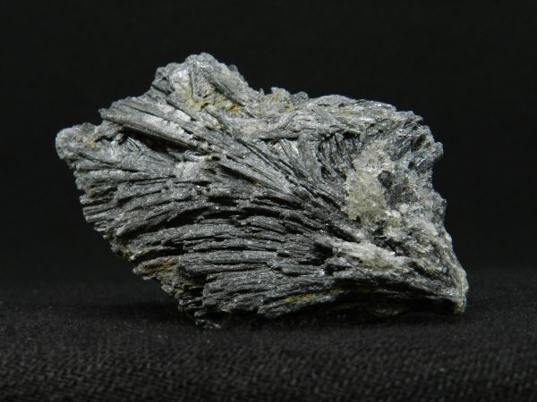 Close up image of Black Kyanite