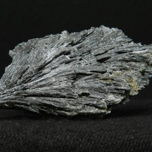 Close up side image of Black Kyanite