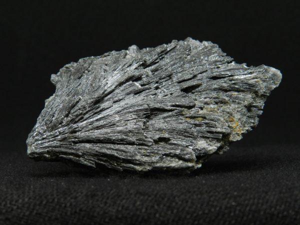 Close up side image of Black Kyanite