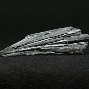 Close up image of Black Kyanite