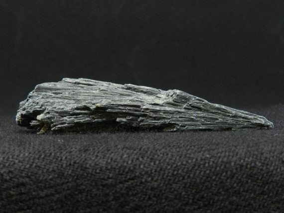 Close up of Black Kyanite
