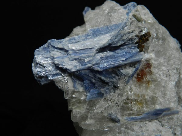 Close up detail of Blue Kyanite
