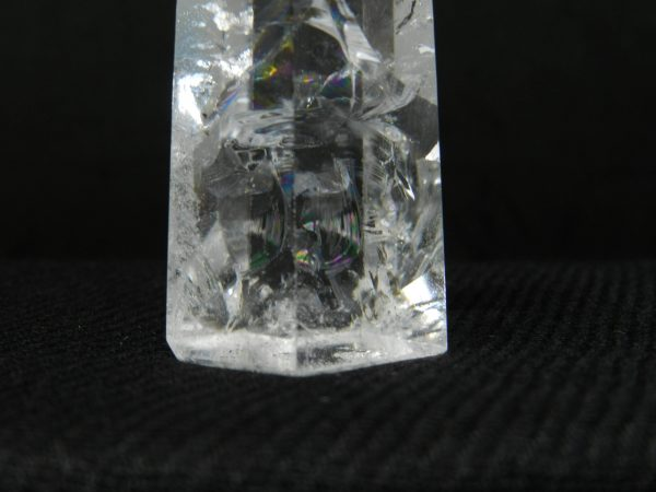 Close up image of the base of Quartz crystal