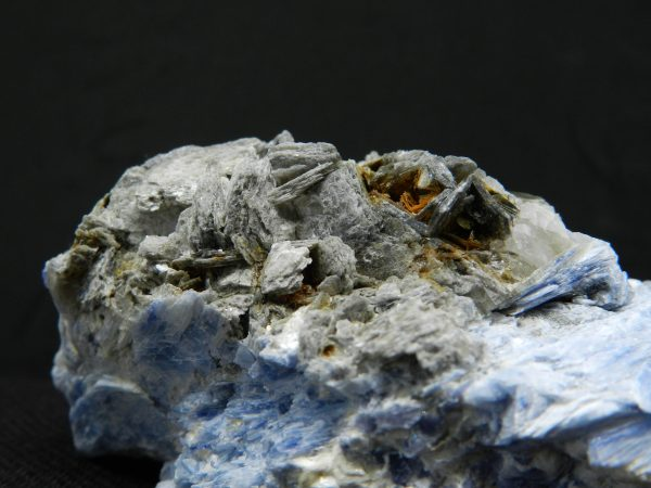 Close up image of detail on Kyanite
