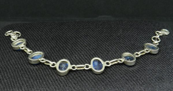 Image of reverse side of Kyanite Bracelet