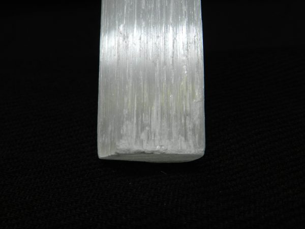 Extreme close up of base of Selenite