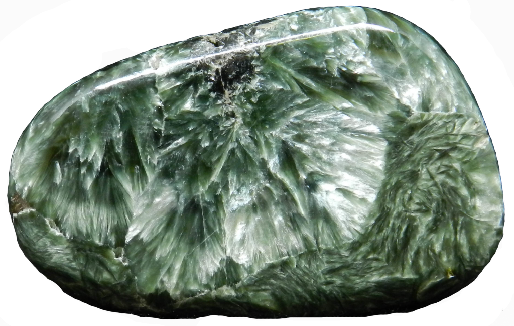 Image of Seraphinite with background removed