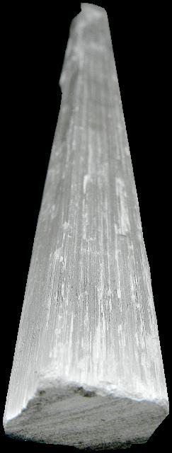 selenite wand angled image