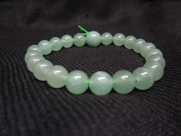 Aventurine power bracelet close up image
