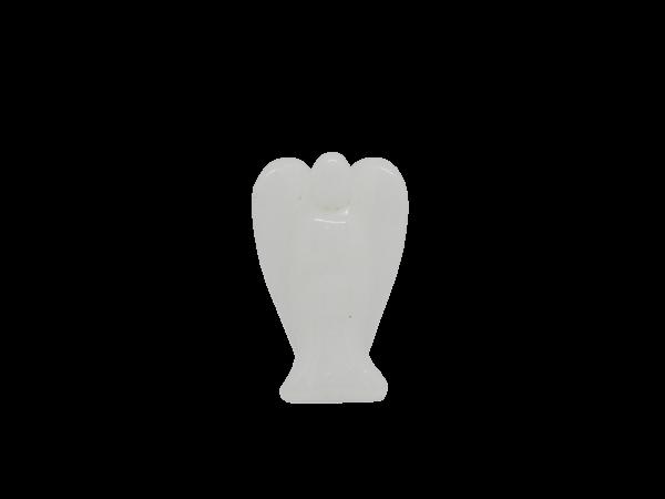 White Quartz Pocket Angel