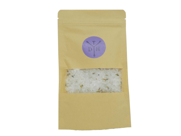 Lavender Bath Salts 100g in pouch