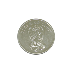 Angel Blessing Coin front face