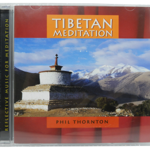Tibetan Meditation CD by Phil Thornton front cover and case