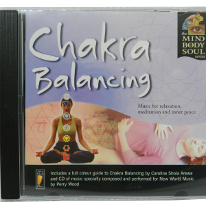 Chakra Balancing by Perry Wood CD front cover case