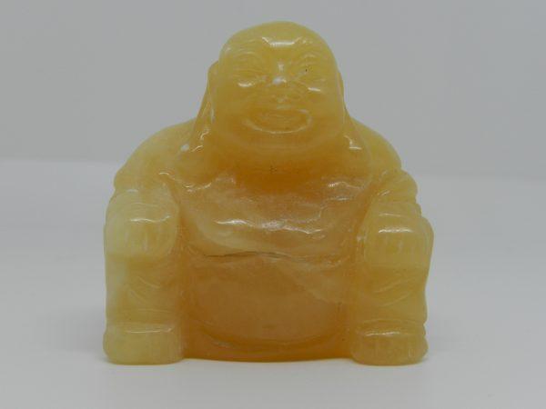 Orange Calcite Buddha