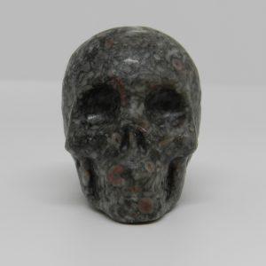 Skull of Snakeskin Jasper