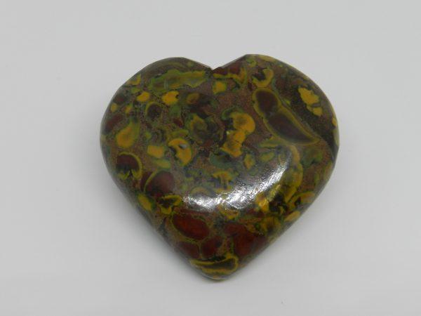 Fruit Jasper Heart