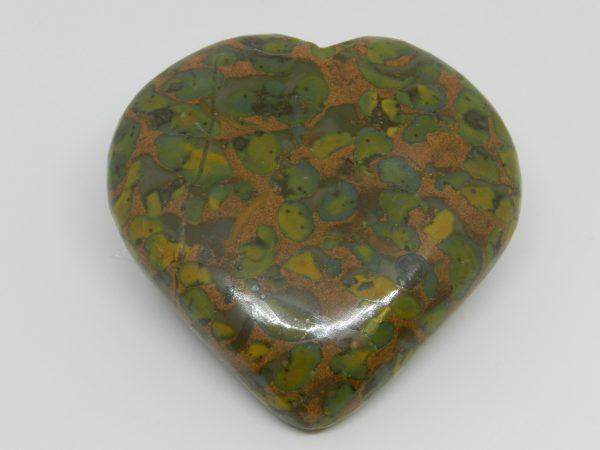 Crystal Fruit Jasper Heart