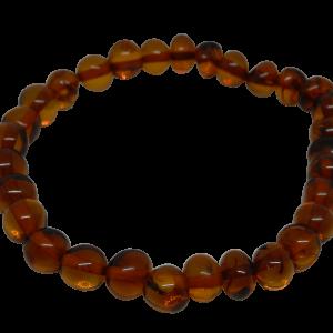 baltic cognac amber bracelet