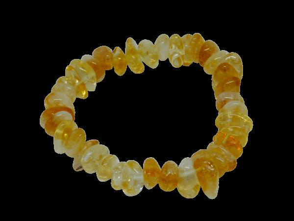 Citrine Chip Bracelet