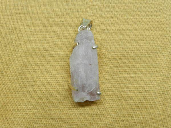 crystal kunzite pendant