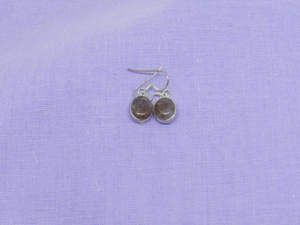 crystal super seven earings