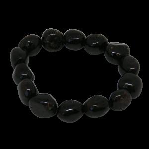 large garnet bracelet