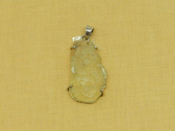 libyan tektite pendant