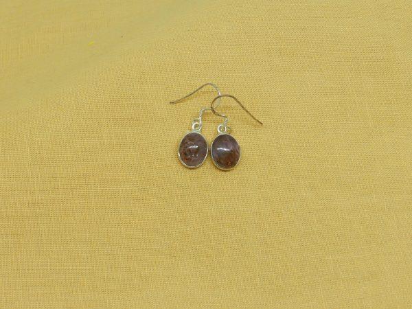 super seven crystal earrings