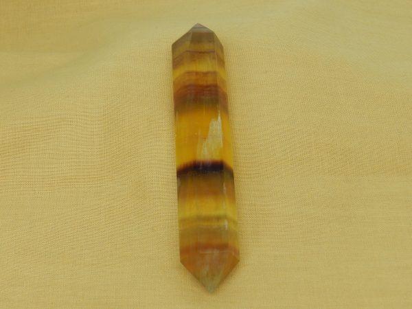 Yellow Rainbow Fluorite