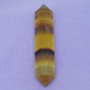 Yellow Rainbow Fluorite
