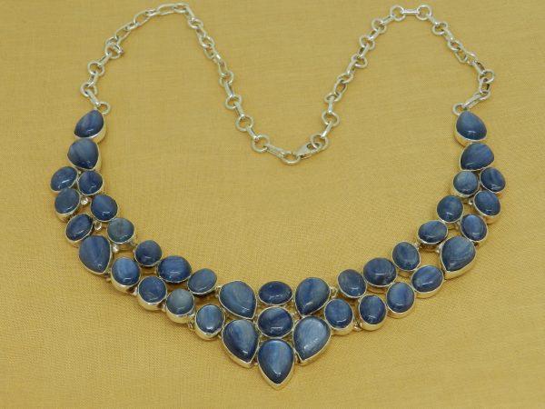 kyanite crystal necklace