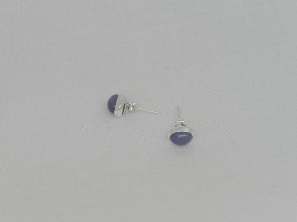 pair tanzanite earrings