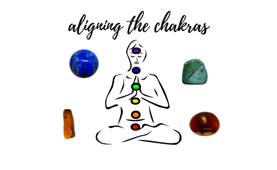 Crystals for chakra alignment