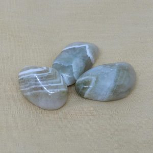 Green Amethyst Crystal Tumblestones
