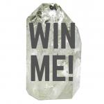 Win a rainbow quartz crystal