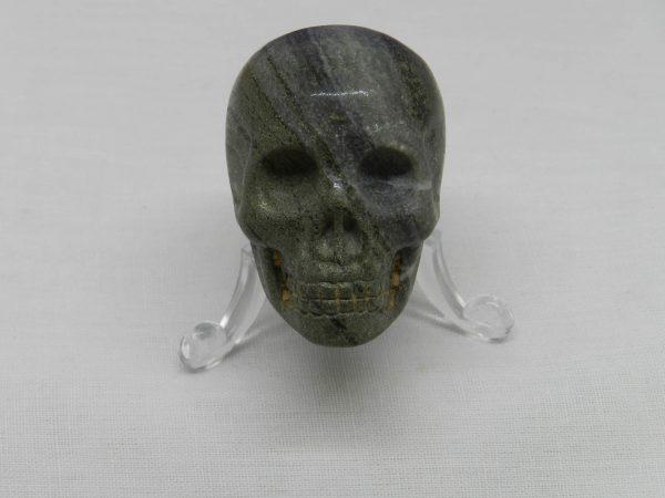 Hematite Skull