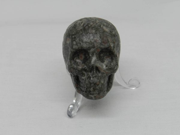 Snakeskin Jasper Skull